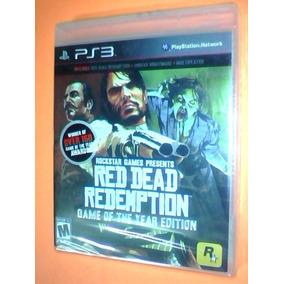 Red Dead Redemption - Ps3 Nuevo Caja Sellada - Fisico