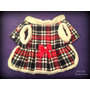Vestido Escocés Con Abrigo Interno Ropa Para Perro Pretapet