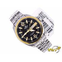 Relógio Casio Edifice Ef-131 - 1a9 V Grande 43 Mm Lindissimo