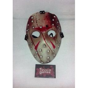 Máscara De Polietileno Tipo Careta De Jason+ Envio Dhl Xpres
