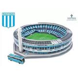 Estadio El Cilindro Cancha Racing Puzzle 3d Maqueta*54003*