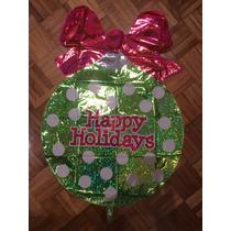 Globo Elio Happy Holidays Año Nuevo Navidad Cotillón