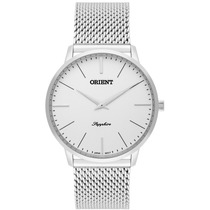 Relógio Orient Masculino Slim Mbsss007 S1sx Safira