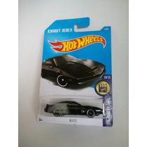Kitt El Auto Increible Hotweels Kit Knight Rider