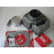 Kit Cilindro Pistao E Aneis Titan 150 Kmp 3mm De Competição