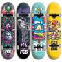 Skate Completo Desenhos De Herois Peças De Alta Qualidade