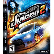 Juiced 2 Hot Import Nights Ps3 - Aceito Trocas