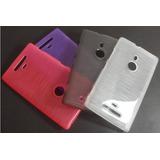 Capa Nokia Lumia 925 Case De Silicone Tpu Top++