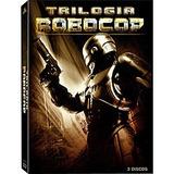 Box Dvd Trilogia Robocop Novo Lacrado Frete Barato