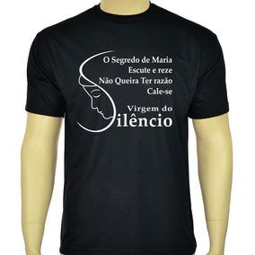Camiseta Virgem Do Silêncio - Camisetas Católicas