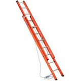 Escada Extensível Fibra Vazada 3,63 X 6m Cogumelo