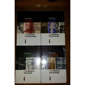 Coleção Ditadura - Elio Gaspari - 4 Volumes Lacrados