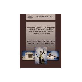 Libro Armstrong Cork Co. V. Congoleum, James D Crawford