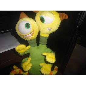 Peluche Original Con Sello Disney Store Personaje Monster In