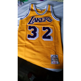 Camiseta Lakers Magic Johnson Hardwoodclassic 84/85 Reliquia