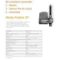 Kit Motor Portão Basculante Ppa Penta Predial 1/2 Veloz 8s