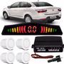 Sensor De Estacionameto Branco Fiat Gran Siena 2014 15 16 17