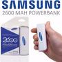 Power Bank Bateria Cargador Portatil Samsung 2600mah Tienda
