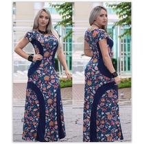 Vestido Sereia Evangélico Com Manguinha 12x S/ Juros
