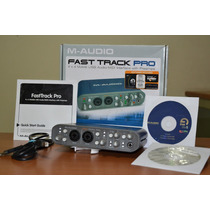 Placa Interface De Audio Fast Track Pro 4x4 Mais Software