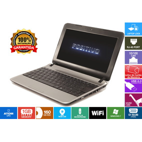 Netbook Mobo Hd160gb 1.6ghz 2gb Wi-fi 12x Sem Juros