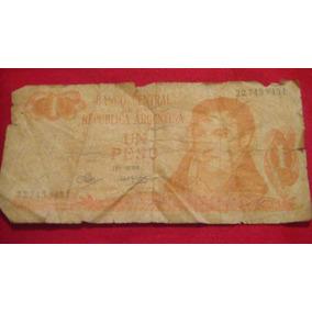 Antiguo Billete De $1 Banco Central De La Rep Arg