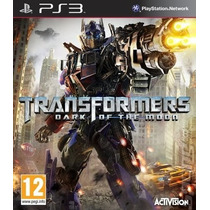 Transformers Dark Of The Moon Ps3 - Aceito Trocas