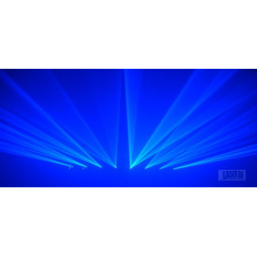 Laserdj 8 Saidas Azul Royal - Laser Show Azul, Dmx, Auto,som