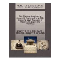 Libro Guy Osceola, Appellant, V. Jerome K., Robert T Coulter