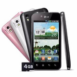 Lg Optimus Black P970 + 4gb + 5.0mp + 3g - Novo