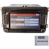 Radio Cd Som Touch Amarok Jetta Novo Fusca 5k0035190b