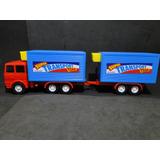 Caminhão Reboque Refrigerado 03 Portas Abrem 1/32 Comp.43cm