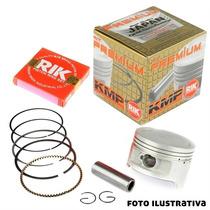 Kit Pistao Aneis Rik Taxado Bros 150 2003 A 2005 Ohc 3mm