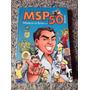 Livro Mangá Msp 50 Artistas Maurício De Souza 194 Páginas
