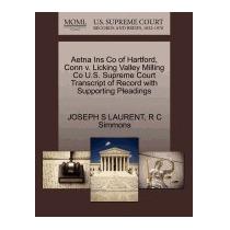 Libro Aetna Ins Co Of Hartford, Conn V. Licking, Joseph S La