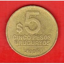 Uruguay 5 Pesos Uruguayos 2005 Artigas