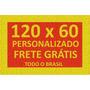 Tapete Capacho Personalizado 120x60 + Frete Grátis Em 12x