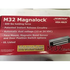 Chapa Electromagnetica 600lb Securitron Magnalock