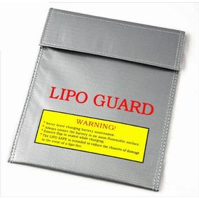 Saco Anti Chama Para Bateria Lipo Lipo Guard 18x23cm Drone