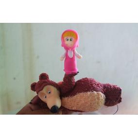 Topo De Bolo Biscuit Masha E O Urso