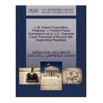Libro J. M. Huber Corporation, Petitioner, V. Federal, Marx