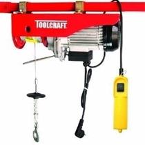 Polipasto Garrucha Electrico 200-400kg Toolcraft Tc3414