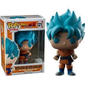 Funko Pop Dragon Ball - Goku Super Saiyan Blue Hair Azul
