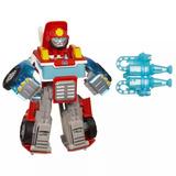 Transformers Rescue Bots Heatwave Energize Bombero - Hasbro