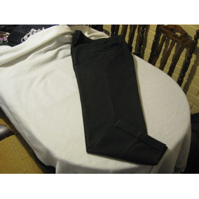 Pantalon Dockers Talla W34 L34 Color Negro Con Pinzas