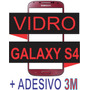Vidro Tela Galaxy S4 I9500 I9505 Vermelho + Adesivo 3m