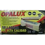 Selladora De Bolsa Y Plástico 20cm Metalica Opalux