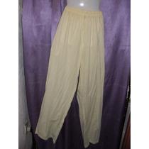 Pantalon Amarillo Fresco 2xl Grande Especial