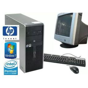 Pc Hp Completas Con Monitor 1gb Dvd