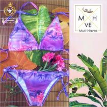 Bikini Hawaiano De Dama Traje De Baño 2017 Sexy Push Up